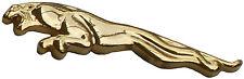 Jaguar leaper in gilt (gold colour) lapel pin