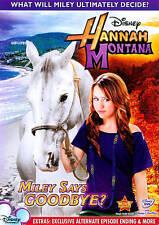 Disney's HANNAH MONTANA - MILEY SAYS GOODBYE? DVD Miley Cyrus Billy Ray Cyrus