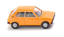WIKING HO scale ~ 'VW POLO' ~ FULLY ASSEMBLED PLASTIC MODEL in YELLOW!