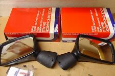 NEW AUSTIN METRO DOOR MIRRORS PAIR UNIPART/ROVER  OE BOXED 1983>