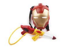 Marvel Avengers Iron Man Backpack Water Gun Squirt Shoots for Kids