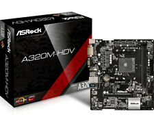 Placa base ASRock AM4 A320m-hdv