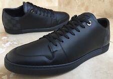"""LOUIS VUITTON LV Damier Graphite Line-up Sneaker UK11 RARE""""AUTHENTIC!"""