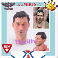 "1:6 Scale Male KUMIK18-4 star Head Carving Model Fit 12"" Action Figure Body"