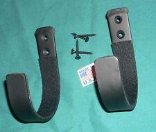 extra large wall Gun hooks display rack felt lined rifle shotgun hangers