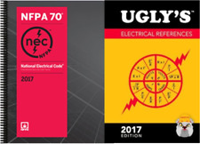 NFPA 70: NEC Spiralbound Code Book & Ugly's Electrical References 2017 Editions