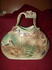 Signed Gail Markiewicz Handcrafted Art Pottery Pocket Book Ceramic Clay Vessel