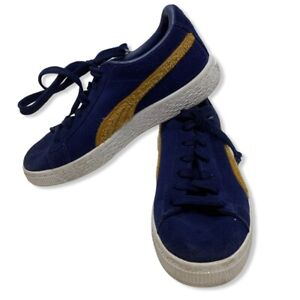 Puma Blue Suede Classic Terry Sneaker Size 2.5