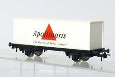 Roco H0 2-achsiger Container Load Car Apollinaris