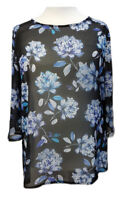Womens Summer Tunic Printed Top Floral Sofo Curves Plus Sizes 16 to 34/ 36 new