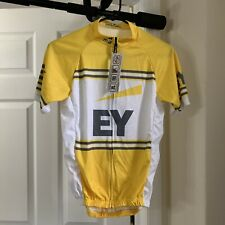 NWT Mens S Borah Ernst & Young EY Cycling Jersey Biking Triathlon Pockets Small