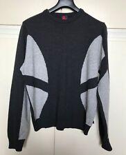 Maglione uomo D&G Dolce & Gabbana maglia lana grigio sweater tg. 50 grey