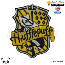 Harry Potter Huffrepuff Embroidered Iron On Sew On PatchBadge For Clothes etc