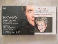 Brahms Symphony No.1 - London Philharmonic Orchestra, Marin Alsop - CD Neuwertig