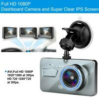 "4"" Vehicle 1080P Car Dashboard DVR Camera Video Recorder G-Sensor Dash Auto Tool"