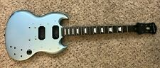 2013 Epiphone SG G-400 Pro Husk Pelham Blue Custom Shop Body Neck Project