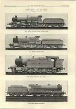 1915 Great Central Express Great Western Goods Passenger Engine