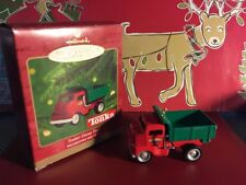 2000 Hallmark Keepsake Ornament Tonka Dump Truck Decoration