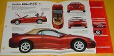 1997 Mitsubishi Eclipse Spyder Convertible GS-T 1997cc Turbo Info/Specs/photo