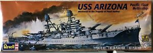 Revell USS Arizona Memorial to Pearl Harbor Model 1:426 Brand New in Shrink Wrap