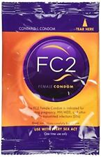 FC Reality Female Condom Non-Latex 5 condoms