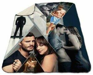 Fifty Shades Of Grey Collage Winter Blanket 150 x 200 cm Queen Size NEW Fleece