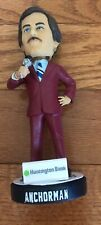 Ron Burgundy Anchorman Bobblehead SGA Kane County Cougars 2019 W Ferrell