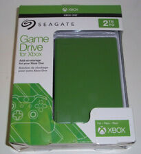 Seagate Game Drive for Xbox One Green 2TB Brand New & Sealed