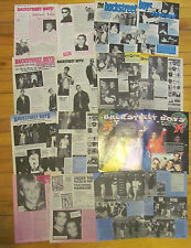 The Backstreet Boys, Lot of EIGHT Two Page Vintage Clippings