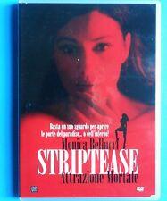 erotic thriller dvd monica bellucci striptease attrazione mortale carlo brandt v