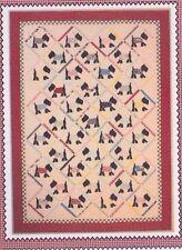 Sunday Best - fun applique & pieced quilt PATTERN - American Jane
