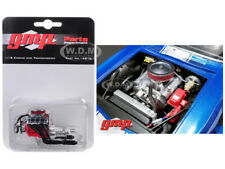 ENGINE AND TRANSMISSION REPLICA BIG BLOCK CHEVROLET DRAG ENGINE 1/18 GMP 18878