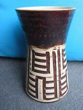 Eddie Goodall Purbeck Studio pottery vase c 1970s