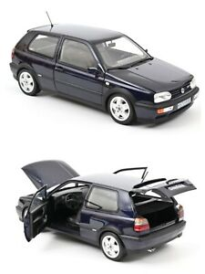 1/18 NOREV VW Volkswagen Golf VR6 1996 Blue New Box Free Shipping Home