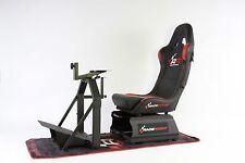 RaceRoom RR3055 Racing Cockpit-Bundle (Racing Game Seat - Simulator - Gamechair)