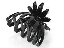 Black Fan Shape Hair Claw Clamp Clip