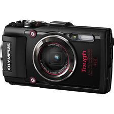 Olympus Stylus Tough TG-4 Waterproof Digital Camera - Black