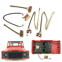 Upgrade Modifikation Lighting Licht Set für MN99 MN99S D90 RC Climbing Auto 1/12