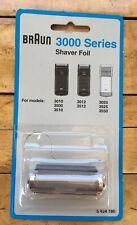 Braun 3000 Series Shaver Foil Genuine Sealed Package