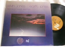 ELVIN JONES Earth Jones Dave Liebman Terumasa Hino Kenny Kirkland George Mraz LP
