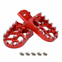 CNC Foot Pegs Pedals Rests Footpegs For HONDA CRF150F 03-09 CRF230F 2003-2019