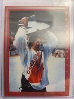 1984-85 Team Canada Promo Card Wayne Gretzky Team Canada Cup Victory SP