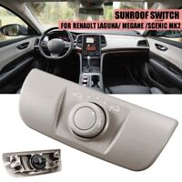 Electric Sunroof Control Switch Frame Grey For Renault Laguna Megane Scenic MK2