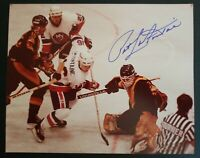 PAT LAFONTAINE SIGNED AUTOGRAPH 8X10 NHL NY ISLANDERS 100% AUTHENTIC VINTAGE