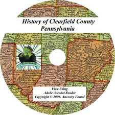 2 in 1 History of CLEARFIELD County Co. Pennsylvania PA
