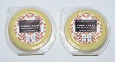 2 BATH & BODY WORKS VANILLA BEAN MARSHMALLOW WAX MELTS TART WHITE BARN WARMER
