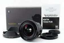 Voigtlander Nokton 10.5mm f0.95 Lens for Micro Four Thirds from Japan#677675