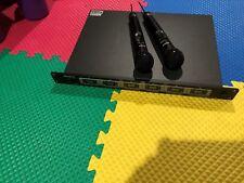Sony MB-806 Wireless Mic WRU-806B Receiver plus 2 Sony WRT807A Wireless Mic
