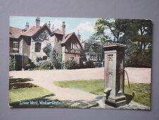 R&L Postcard: Lower Ward Windsor Castle Nr Slough/London, Shureys