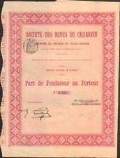 Mines de CHARRIER (ALLIER 03) (O)